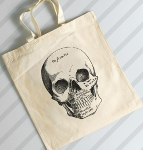 Trick or Treat or Grocery Shop in style. From theboldbanana.etsy.com.