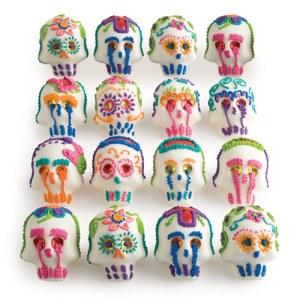 """Dean & Deluca: takin' care of business.  Mexican folk art sugar skulls to celebrate """"El Dia de los Muertos"""" or """"Day of the Dead."""""""