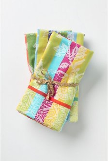 Afterglow Dishtowels from Anthropologie