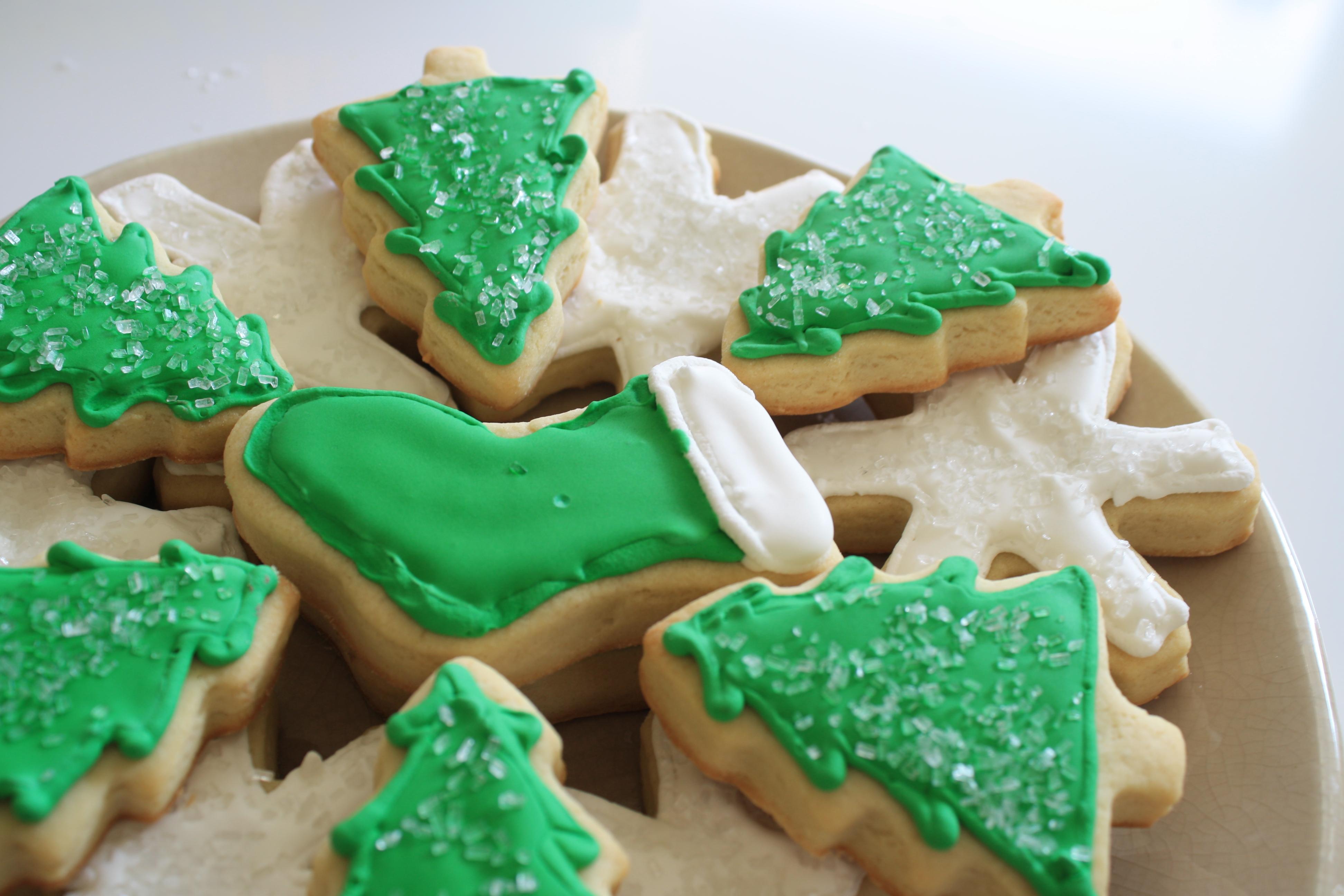 Christmas sugar cookies recipe cream cheese
