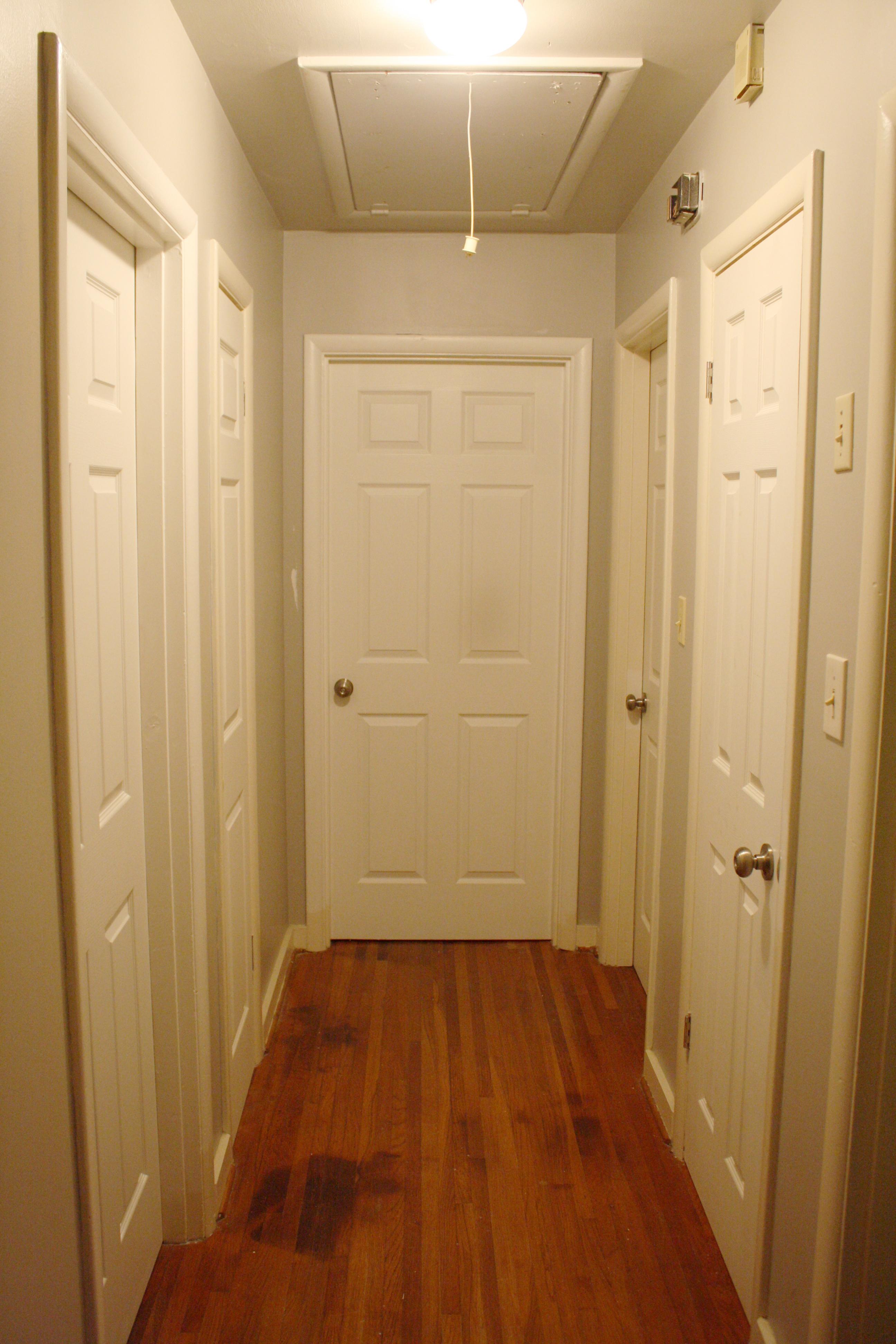 Hallway Doors Paint