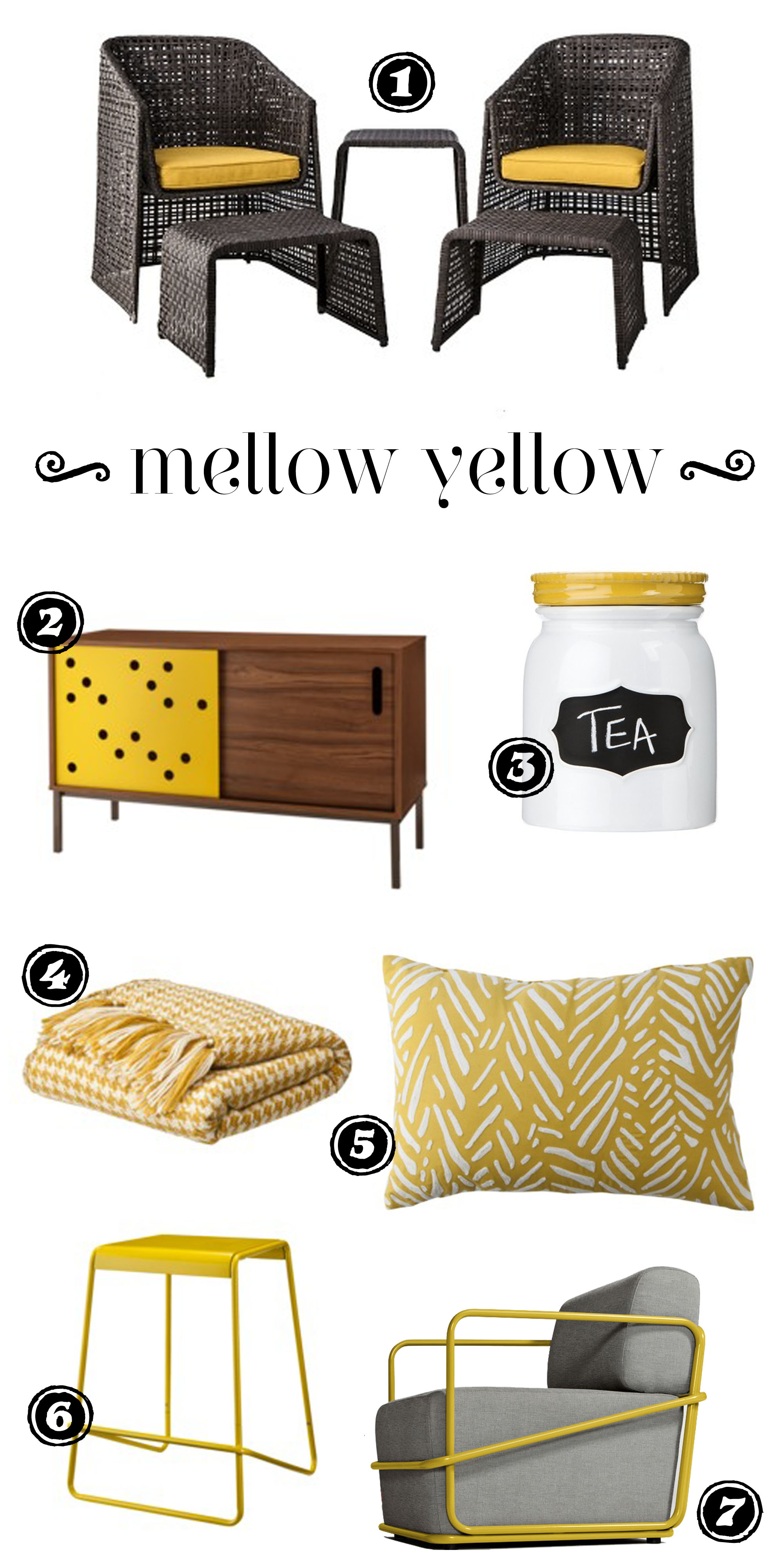 too by blu dot  rosemary on the tv - too by blu dot sideboard  threshold stoneware canister  thresholdhoundstooth throw  embroidered pillow  too by blu dot counter stool