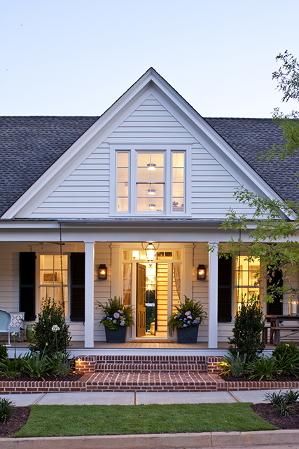 Southern living s historic farmhouse renovation rosemary for Southern living farmhouse