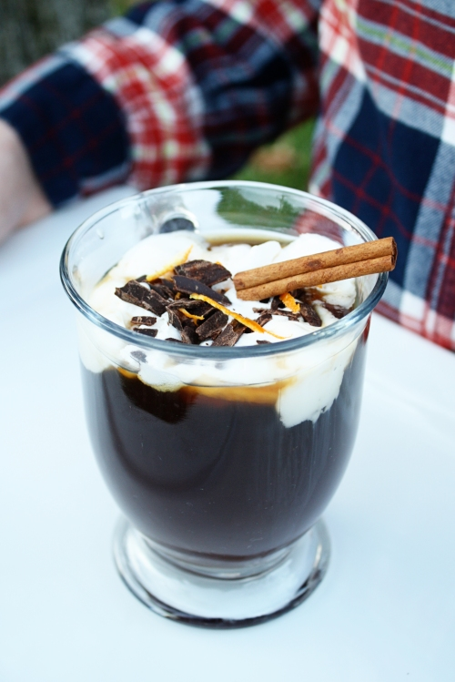 Smuggler's Coffee recipe for Bourbon and Boots | Rosemary on the TV #autumn #cocktails