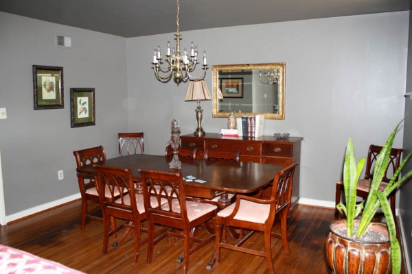 DiningRoom Before | Rosemary on the TV