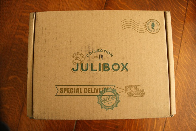 Julibox, a Cocktail Delivery Service | Rosemary on the TV