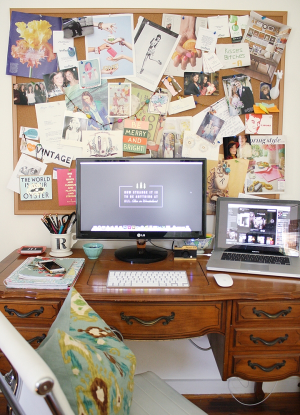 My Home Office | Rosemary on the TV