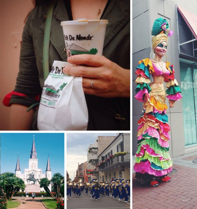 New Orleans Shopping & Food Guide | Rosemary on the TV #cafedumonde #beignets #jacksonsquare