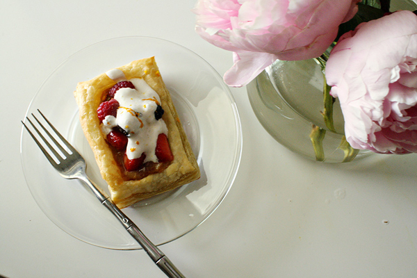 Fresh Fruit Tarts with Coconut Cream | Rosemary on the TV